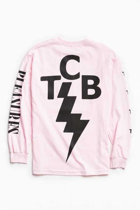 PLEASURES Lightning Bolt Long Sleeve Tee