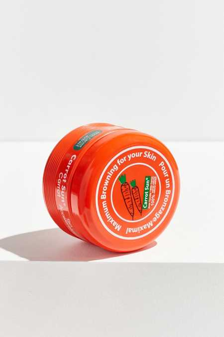 Carrot Sun Tan Accelerator Cream