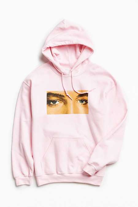 PLEASURES X Elvis Eyes Hoodie Sweatshirt
