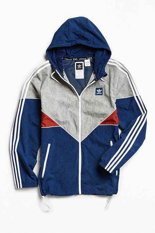 adidas Colorado Windbreaker Jacket,BLUE,M