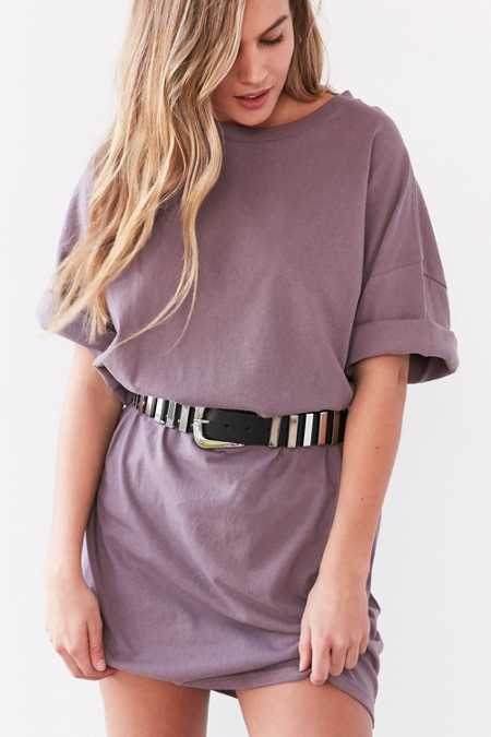 Silence + Noise Buster Cocoon Tee Dress