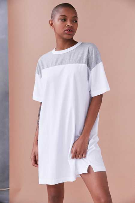 Truly Madly Deeply Jersey Mini T-Shirt Dress