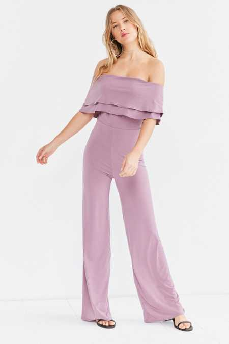 Oh My Love Emily Off-The-Shoulder Jumpsuit