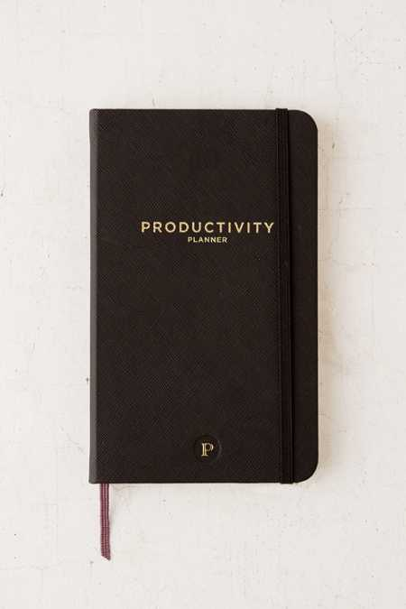 Productivity Plan Journal