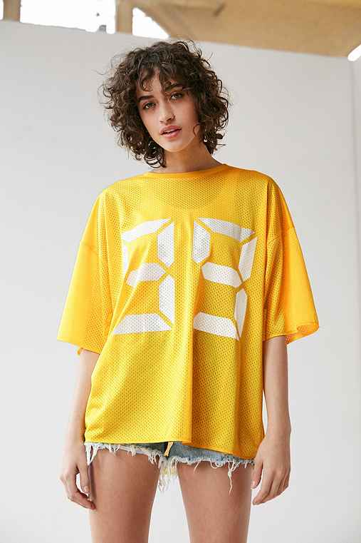 Silence + Noise Wake Up Jersey,YELLOW,M