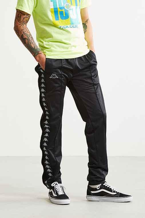 Kappa Tearaway Track Pant,BLACK,S
