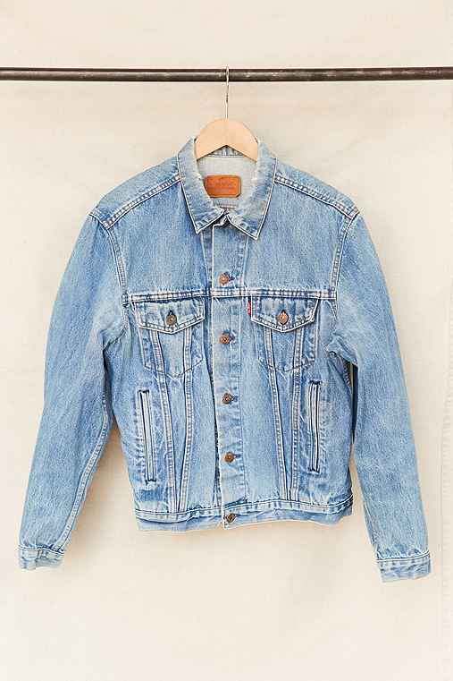 Vintage Levi's Trucker Denim Jacket,ASSORTED,ONE SIZE