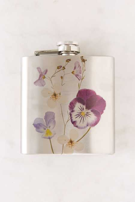 Pressed Flower Flask