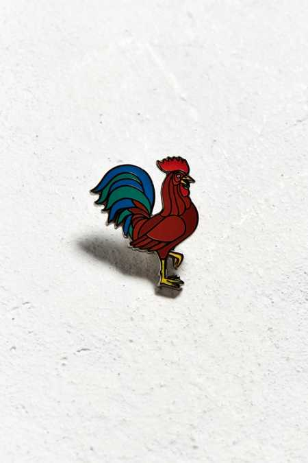 UO Rooster Pin