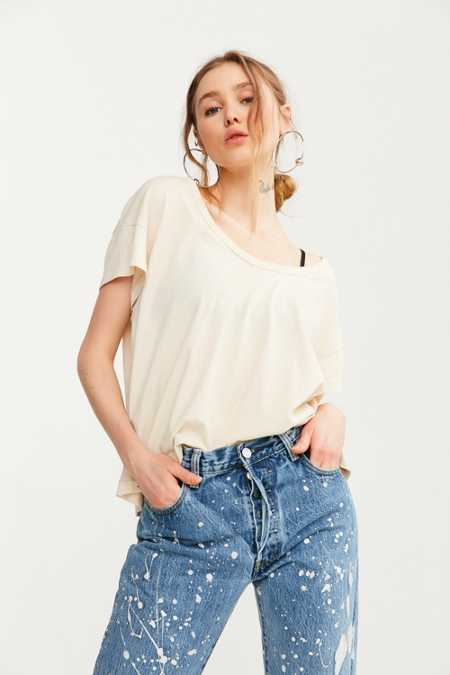BDG Cancel Out Scoopneck Tee