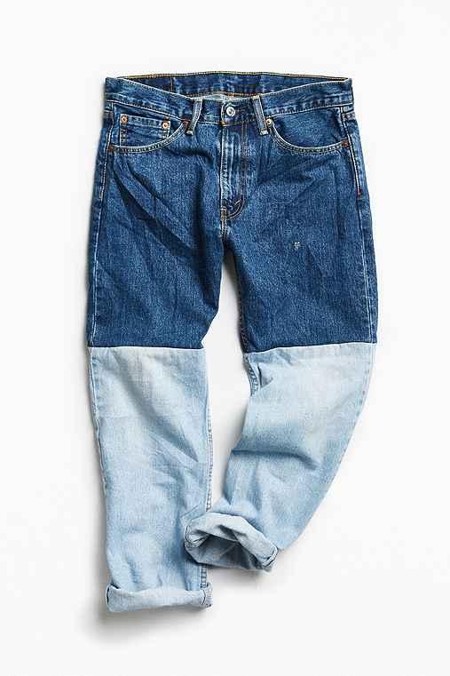 Vintage Reworked Pieced Jean,ASSORTED,32