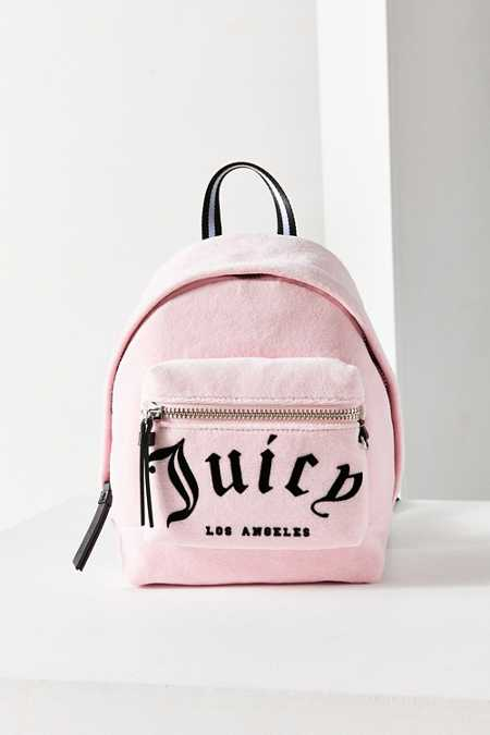 Juicy Couture For UO Velvet Mini Backpack