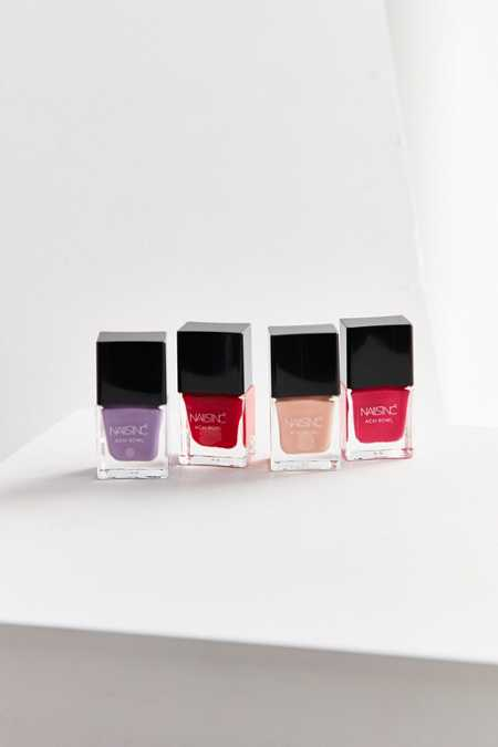 Nails inc. Acai Bowl Colour + Care Nail Polish Collection