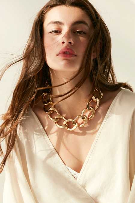 Sammie Gold Chain Necklace