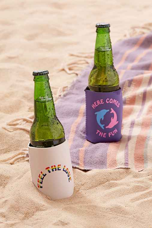 Insulated Drink Holder,FEEL THE LOVE,ONE SIZE