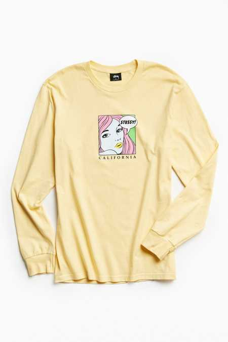 Stussy Cali Girl Long Sleeve Tee