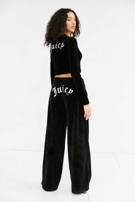Juicy Couture For UO Wide-Leg Velour Pant
