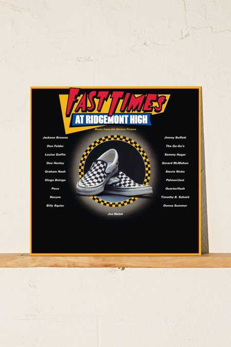 Various Artists - Fast Times At Ridgemont High Soundtrack 2XLP