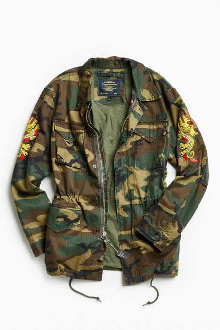 Alpha Industries X UO Double Dragon Tour Field Jacket