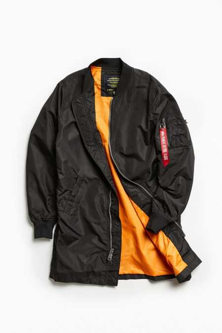 Alpha Industries L-2B Long Bomber Jacket