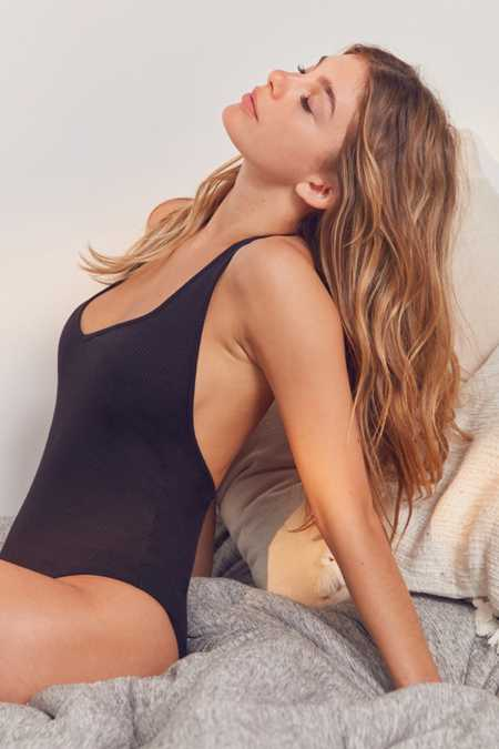 Out From Under Brooke Halter Bodysuit