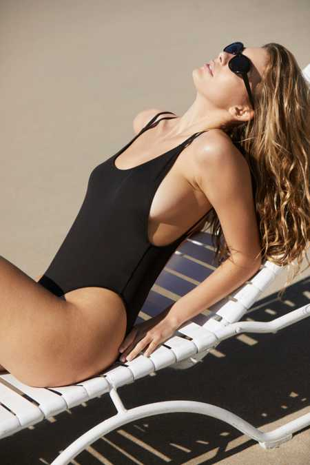Out From Under Scoop Back One-Piece Swimsuit