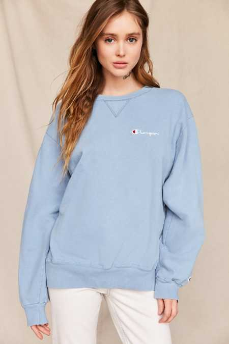 Vintage Champion Pale Blue Sweatshirt
