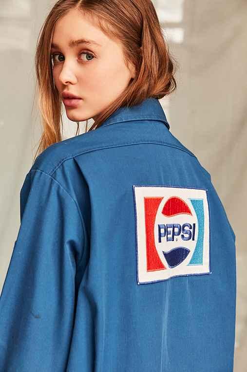 Vintage Pepsi Work Jacket,ASSORTED,ONE SIZE