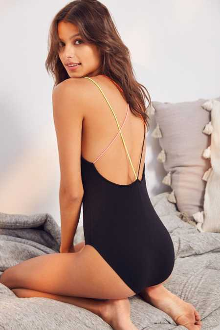 Out From Under Rainbow Bungee Bodysuit