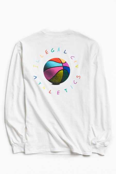 Illegal Civilization Olan Basketball Long Sleeve Tee