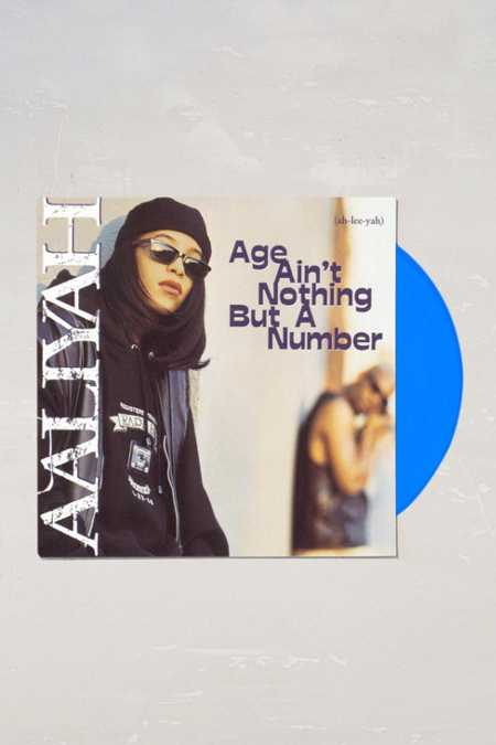 Aaliyah - Age Ain't Nothing But A Number Exclusive LP