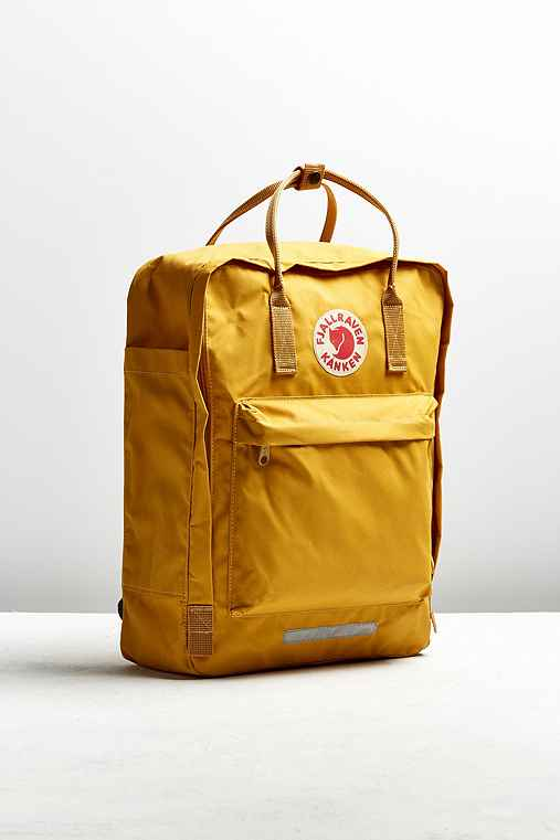 Fjallraven Kanken Big Backpack,MUSTARD,ONE SIZE