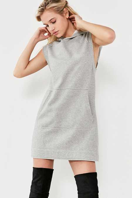 BDG Heather Muscle Hoodie Dress