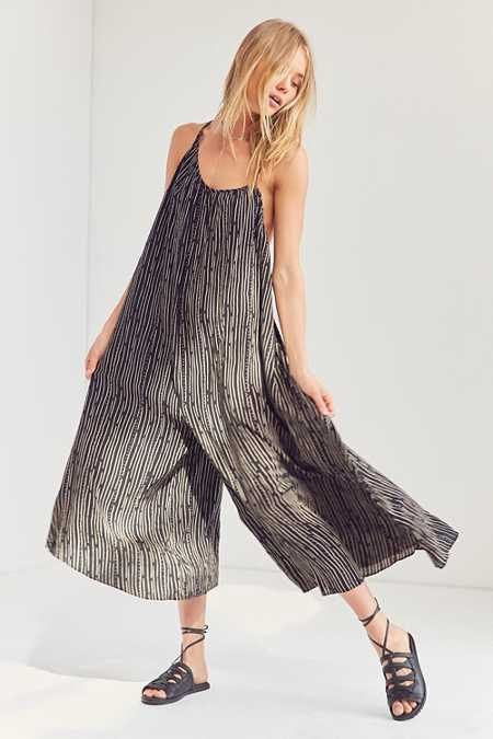 Silence + Noise Breezy Asymmetrical Jumpsuit