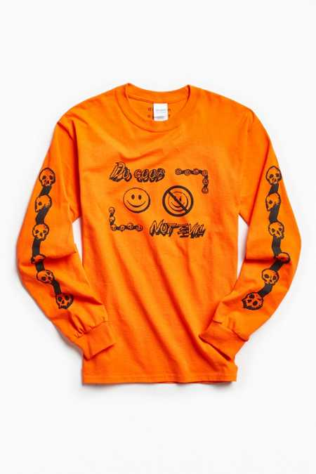 Division Of Labor Do Good Not Evil Long Sleeve Tee
