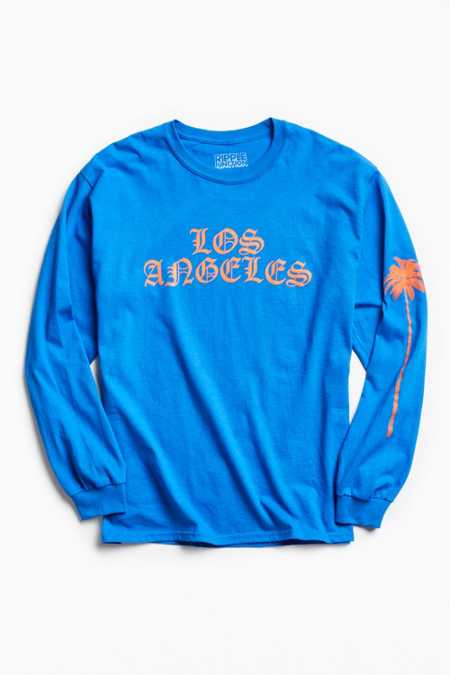 Los Angeles Palm Tree Long Sleeve Tee