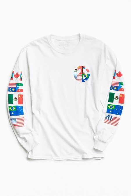 Peace Flags Long Sleeve Tee