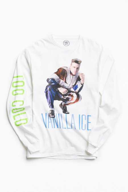 Vanilla Ice Too Cold Long Sleeve Tee