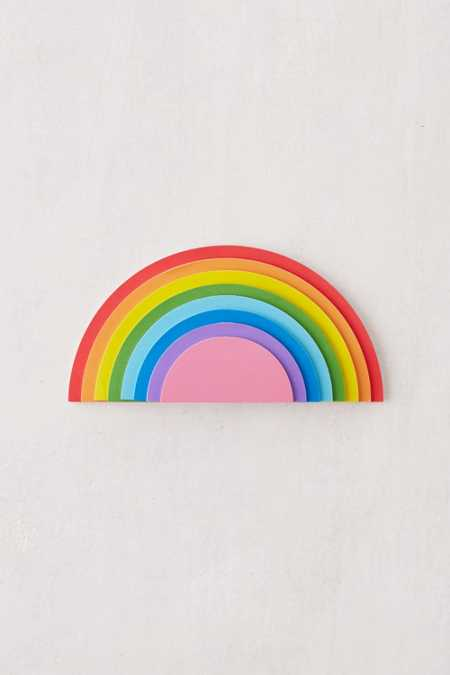Mustard Gifts Rainbow Desk Notepad