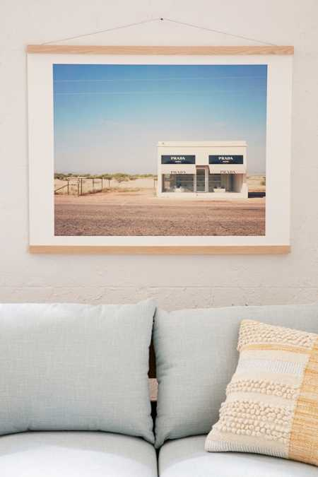 Catherine McDonald For DENY Irony In West Texas Art Print