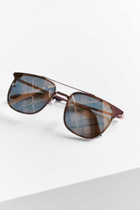 Quay Private Eyes Aviator Sunglasses