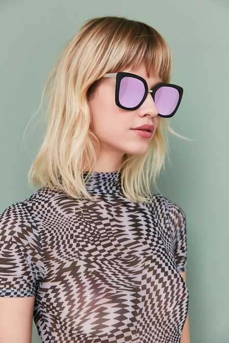 Quay Capricorn Square Sunglasses