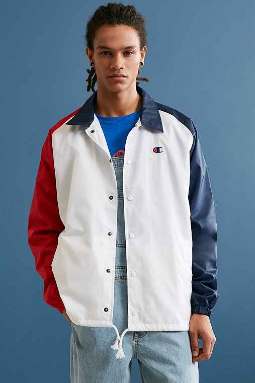 Champion Colorblocked Coach Jacket,MULTI,XL