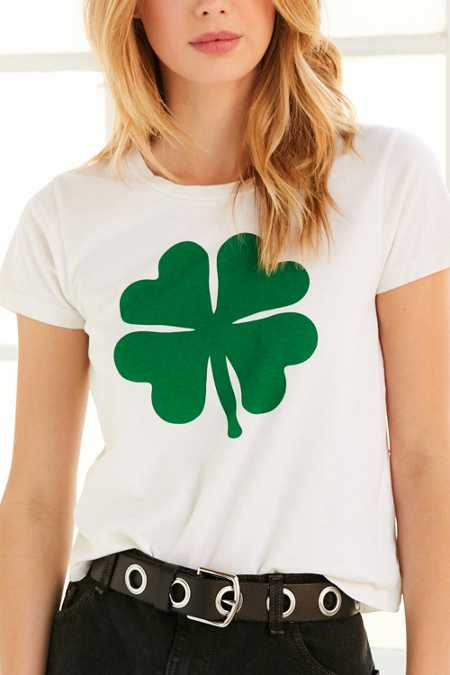Truly Madly Deeply Shamrock Tee