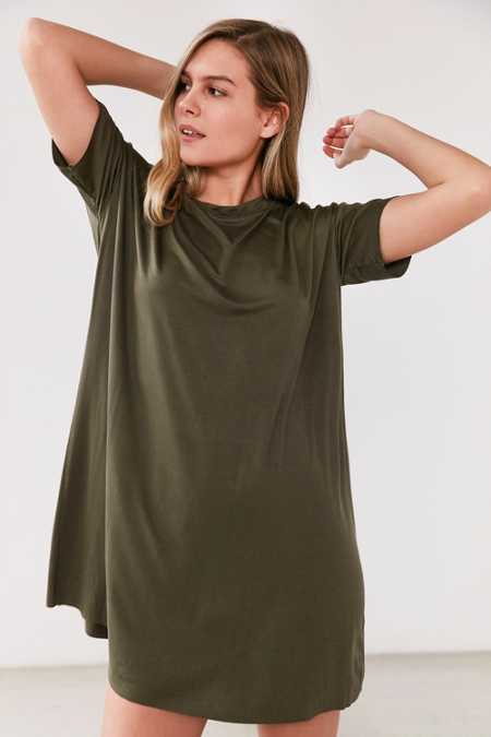 Silence + Noise Boxy T-Shirt Dress