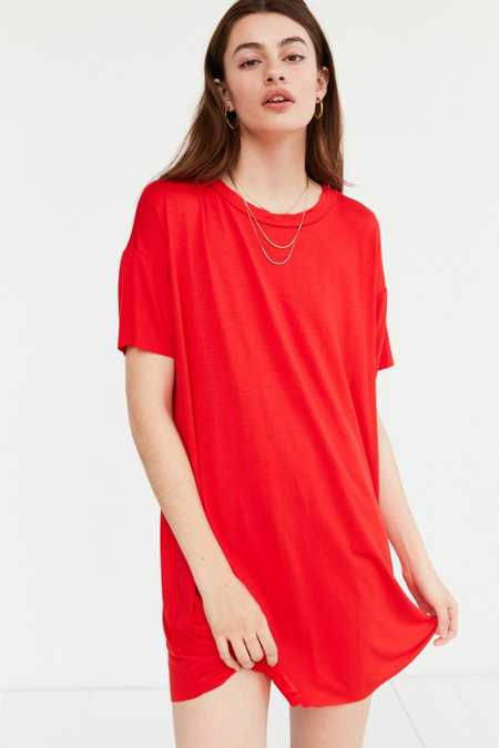 Silence + Noise Boxy Tee Dress