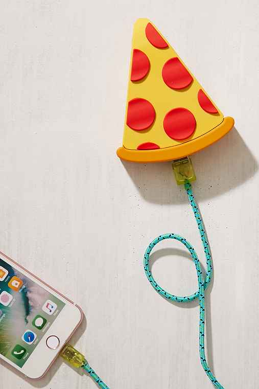 Pizza Slice Portable Power Charger,YELLOW,ONE SIZE