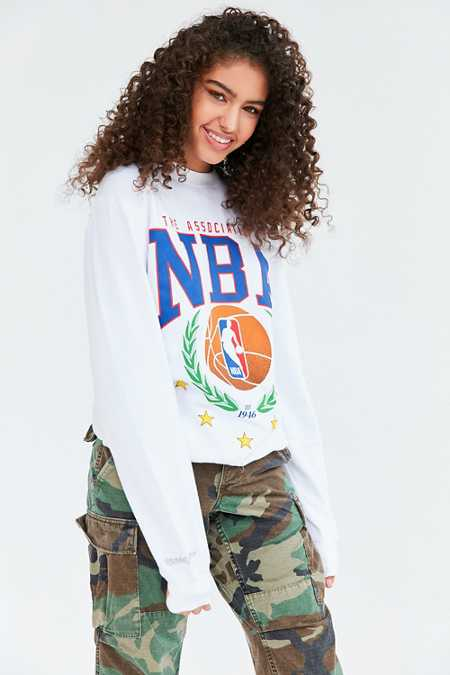 Mitchell & Ness NBA Laurel Wreath Sweatshirt