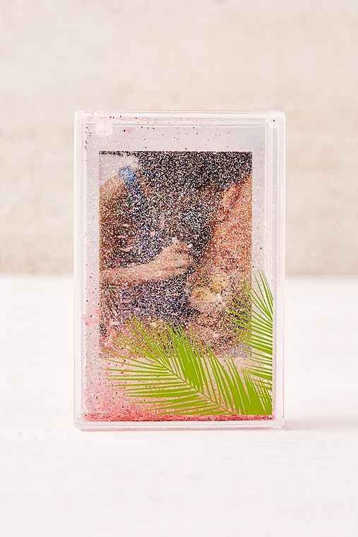 Mini Instax Palm Glitter Picture Frame,GREEN,ONE SIZE