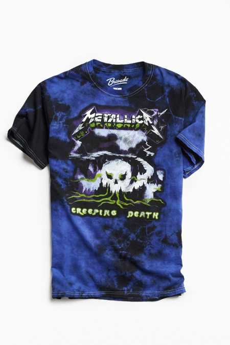 Metallica Creeping Death Dye Tee